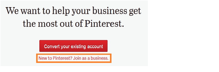 new pinterest business accounts