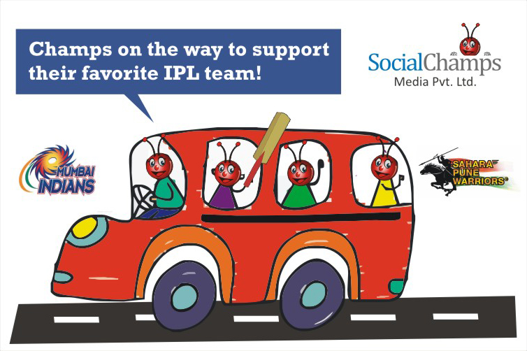 #Socialchamps At IPL
