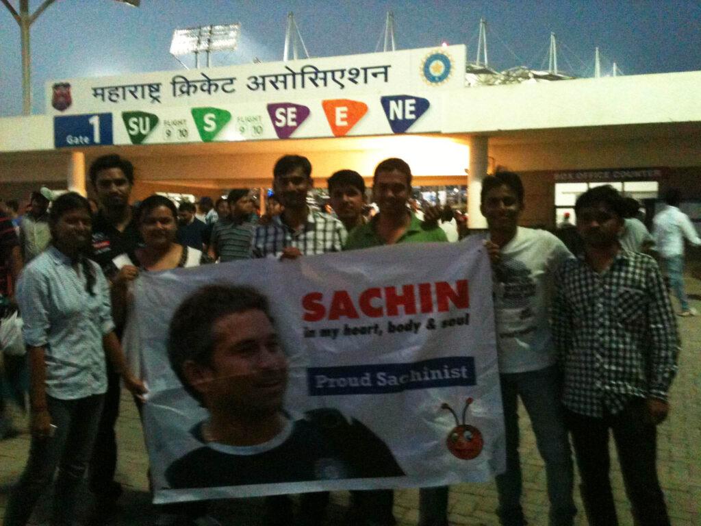 sachin fan india