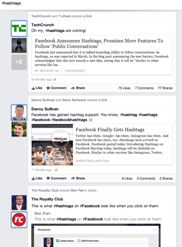 Hashtag On Facebook Hashtag New Feature On Facebook