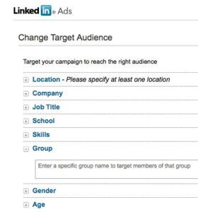linkedin-targeting-options