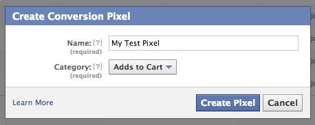 conversion pixel