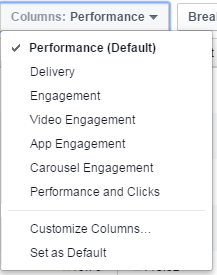 fb default performance