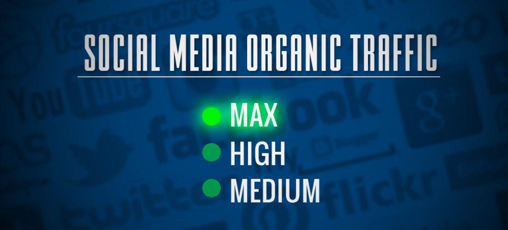 Increase Social Media Organic traffic