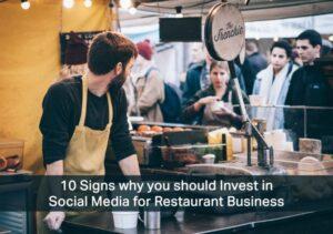 social media for restaurant business  USA