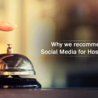 Why we recommend Social Media for Hospitality