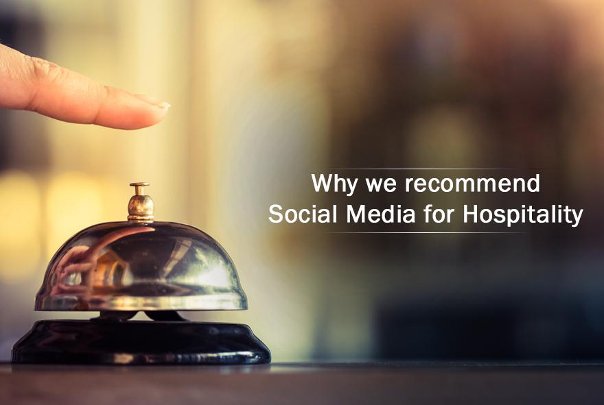 social media for hospitality industry