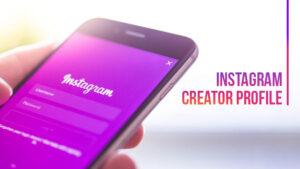 instagram profile creator