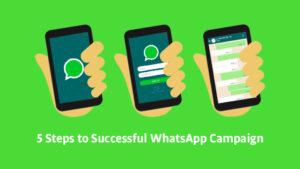5 successful whatsApp campaign