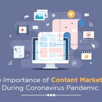 Importance of Content Marketing during Corona Pandemic.
