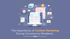 content marketing during coronavirus pandemic